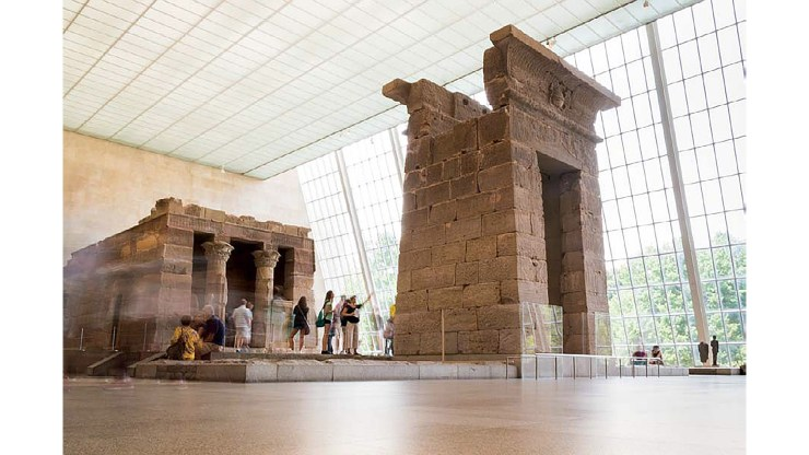 The Enthusiast's Guide to Travel: Working around uncontrollable conditions Temple of Dendur, Metropolitan Museum of Art, New York, New York