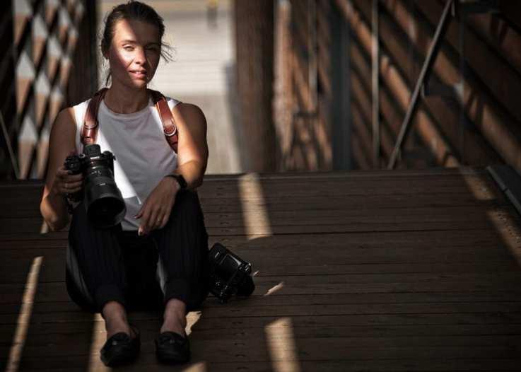 Michele Grenier portrait mirrorless Sony