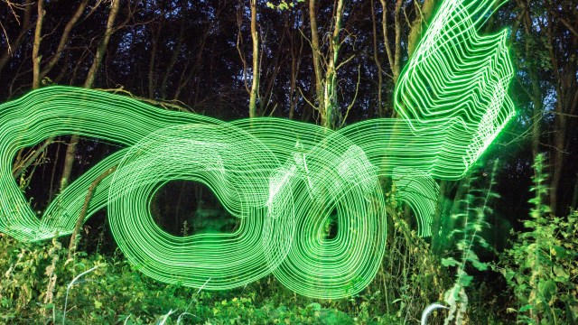 Getting started with light painting