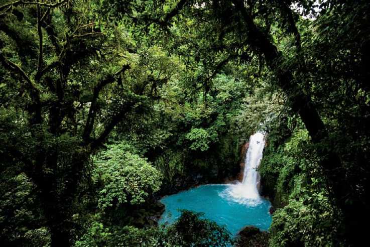 A quick search on TripAdvisor introduced me to the bluest water I've ever seen: Costa Rica's Rio Celeste. ISO 125; 1/30 sec.; f/3.5; 11mm