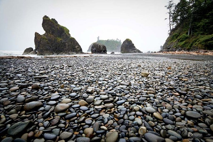I changed my travel plans at the last minute to add a day in Olympic National Park, allowing me to visit Ruby Beach in Jefferson County, Washington. ISO 500; 1/160 sec.; f/3.5; 10mm