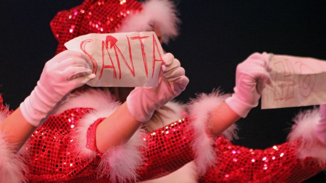 Beyond the Santa photo