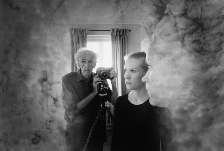 Jerry Ueslsmann self portrait