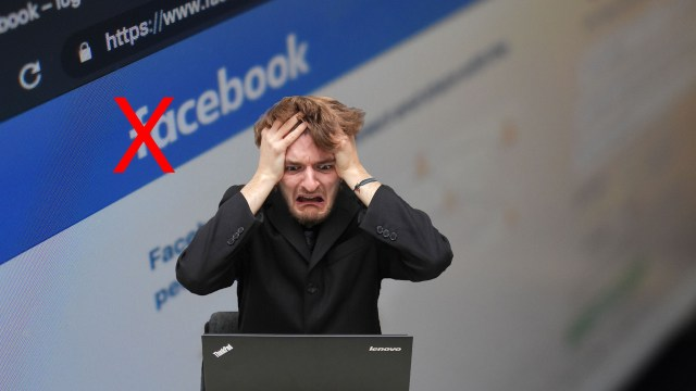Facebook just deleted my business account ... for the second time!