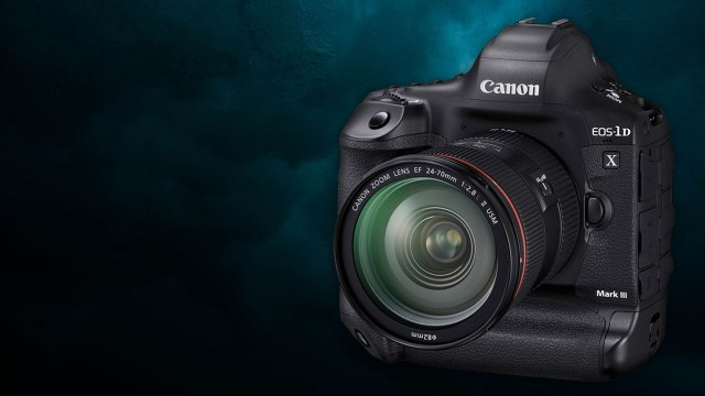 Canon's new 1D X Mark III sets the new standard for DSLRs