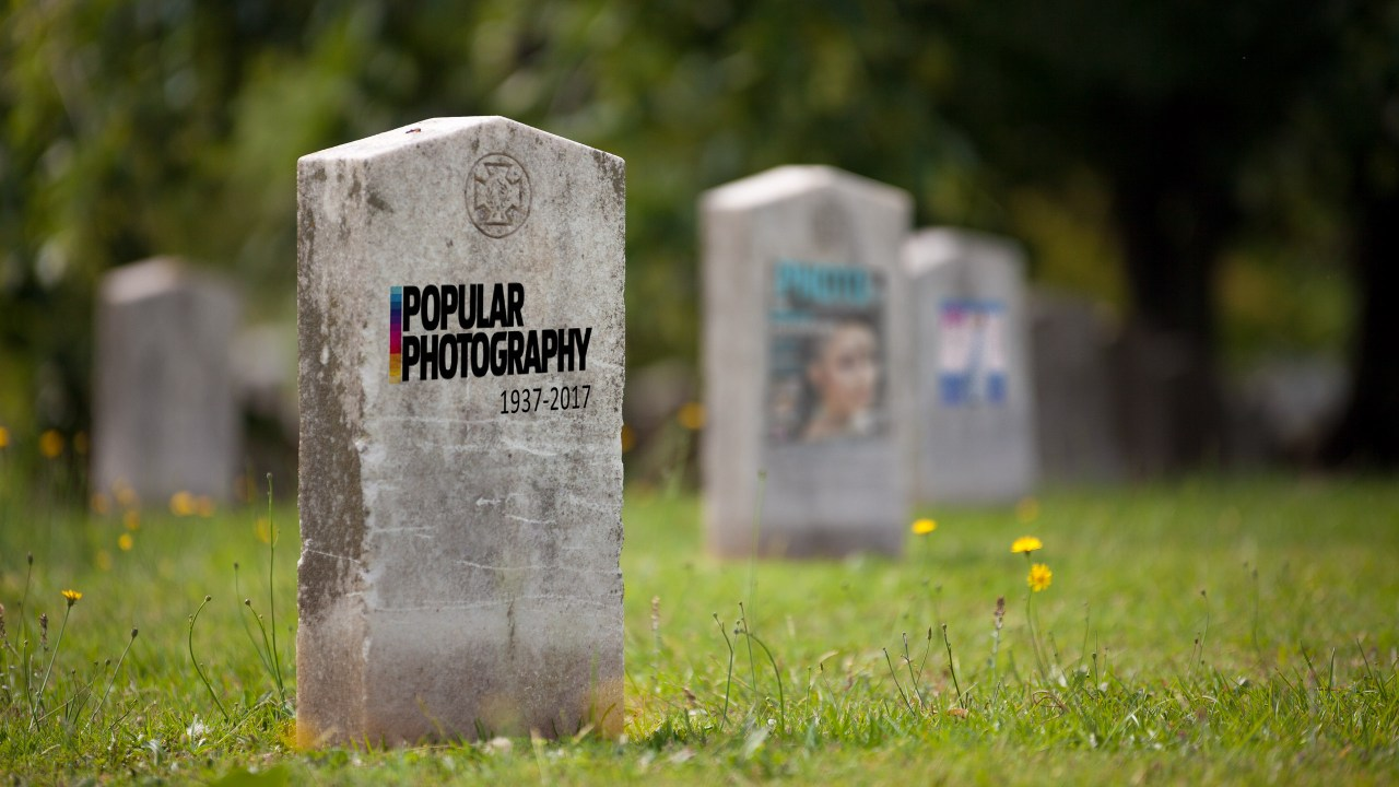 Where have all the photo magazines gone? Rest in peace Popular Photography, American Photo and Photo District News