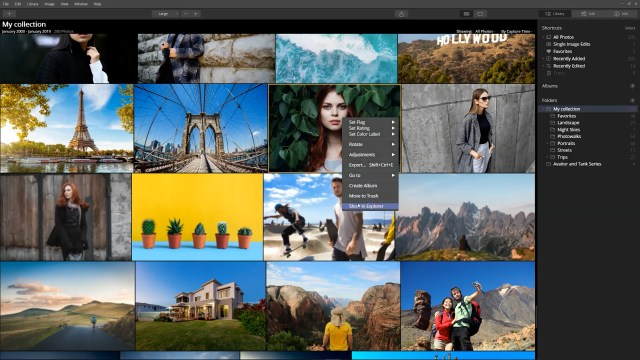 How Luminar interacts with files on your hard drive