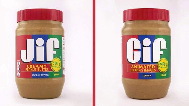 JIF settles the great GIF debate