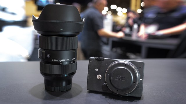 An in-person look at the Sigma fp camera