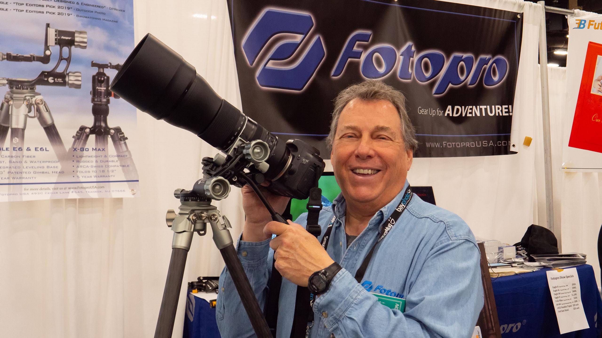 multi-purpose tripod head michael green fotopro