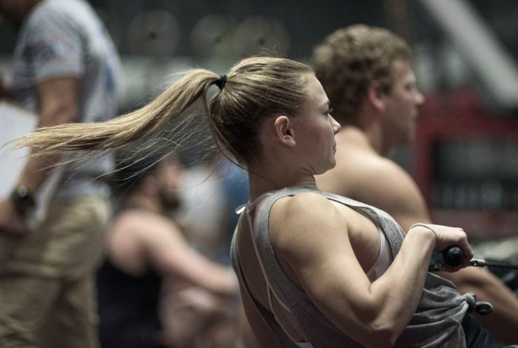 CrossFit athlete