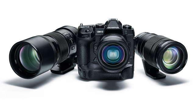 Get a camera body for free with the purchase of Olympus lenses