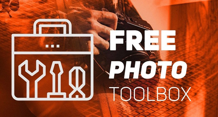 Get a free photo toolbox from Photofocus