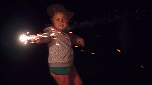 Bring your sparkler photos to life with Plotagraph