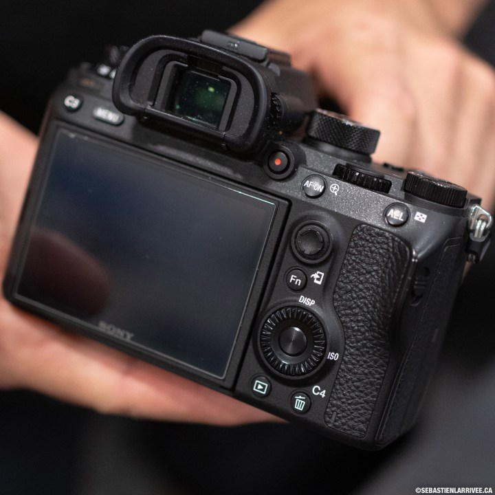 Mirrorless Sony camera a9