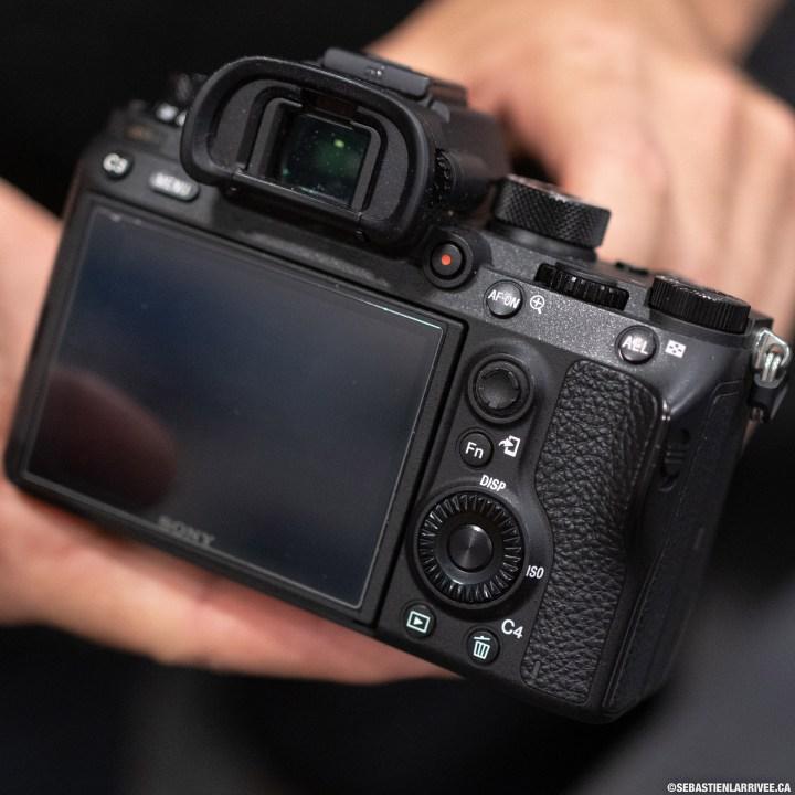 Mirrorless Sony camera a9