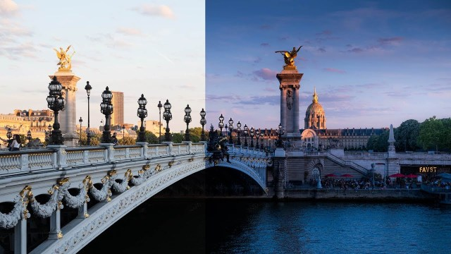 Transform a photo from day to night with Lightroom Classic