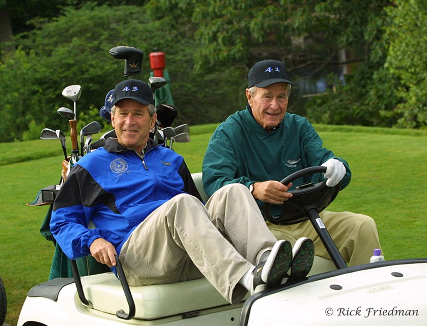 Rick Friedman Bush Presidents
