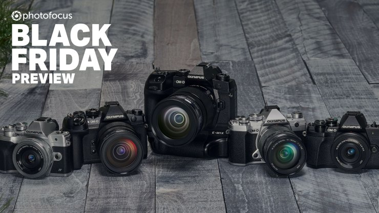 Olympus announces huge Black Friday savings on cameras and lenses