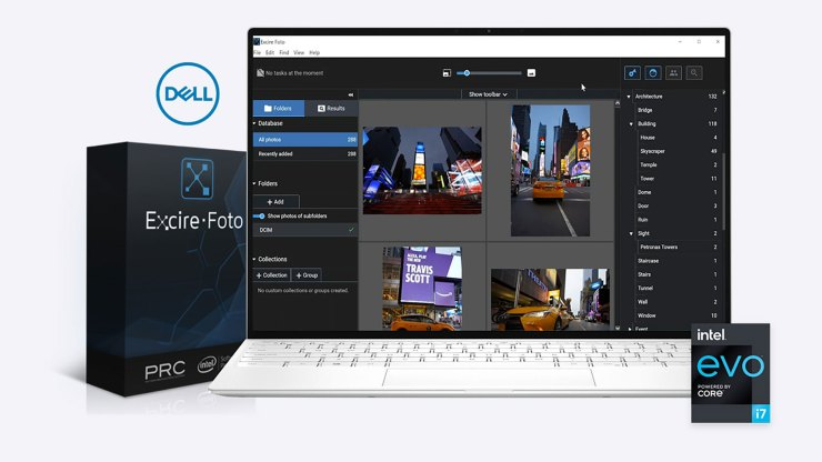 Hey Europe, enter to win the Ultimate Creative Bundle from Dell, Excire and Intel!
