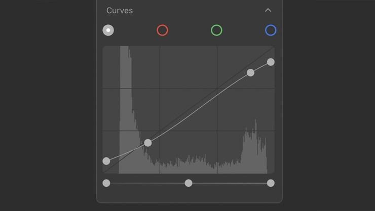Curves Tool Luminar AI
