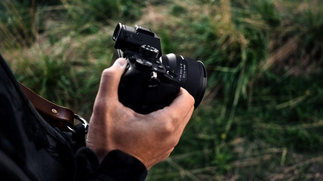 Wide angle lens camera