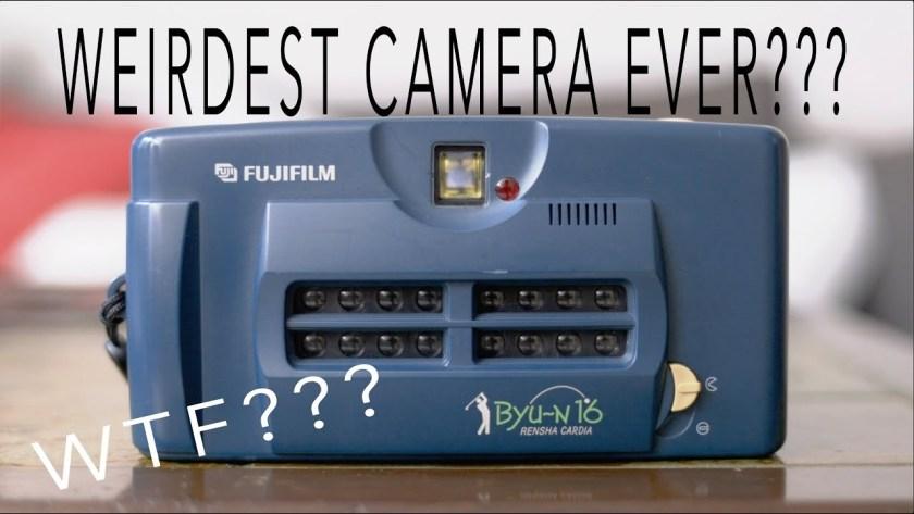 Fujifilm Rensha Cardia Byu-N 16 is weird and wonderful