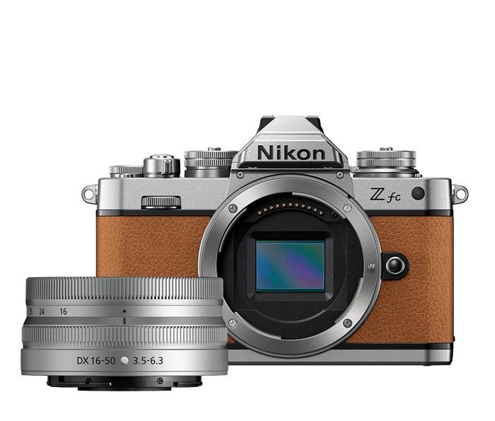 Nikon Z FC in Brown