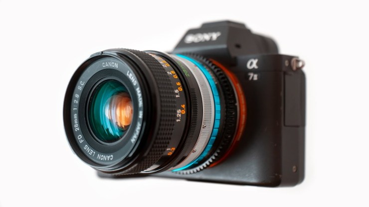 This vintage lens is a cheap but amazing travel lens