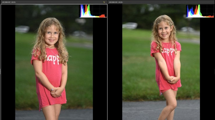 85mm Z Mount on Left, F Mount on Right
