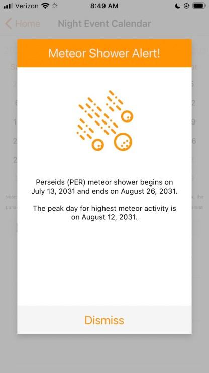 Light pollution, app, map, sky