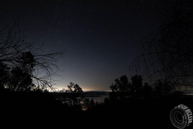 View of San Jose from Ben Lomond, CA