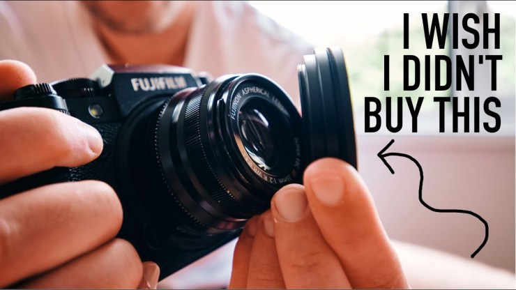 Overhyped Camera Gear To Avoid - youtube