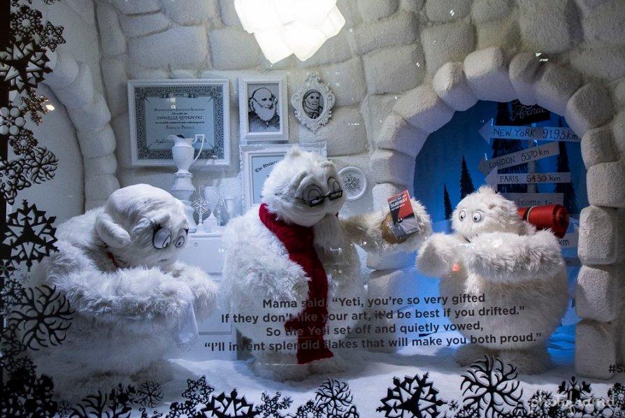 SAKS christmas window