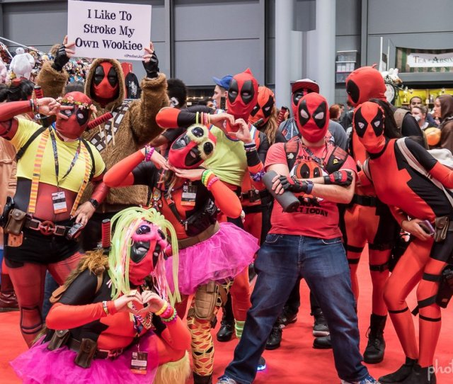 The Ryan Reynolds Movie Raised The Public Consciousness To The Character And This Years Ny Comic Con 2016 Showed It One Deadpool Can Be Nilarious But