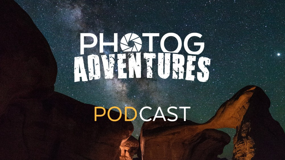 Photog Adventure PODCAST 80: Listener Q&A talking places we wouldn't go back to, the pano process & a Live Tech Test