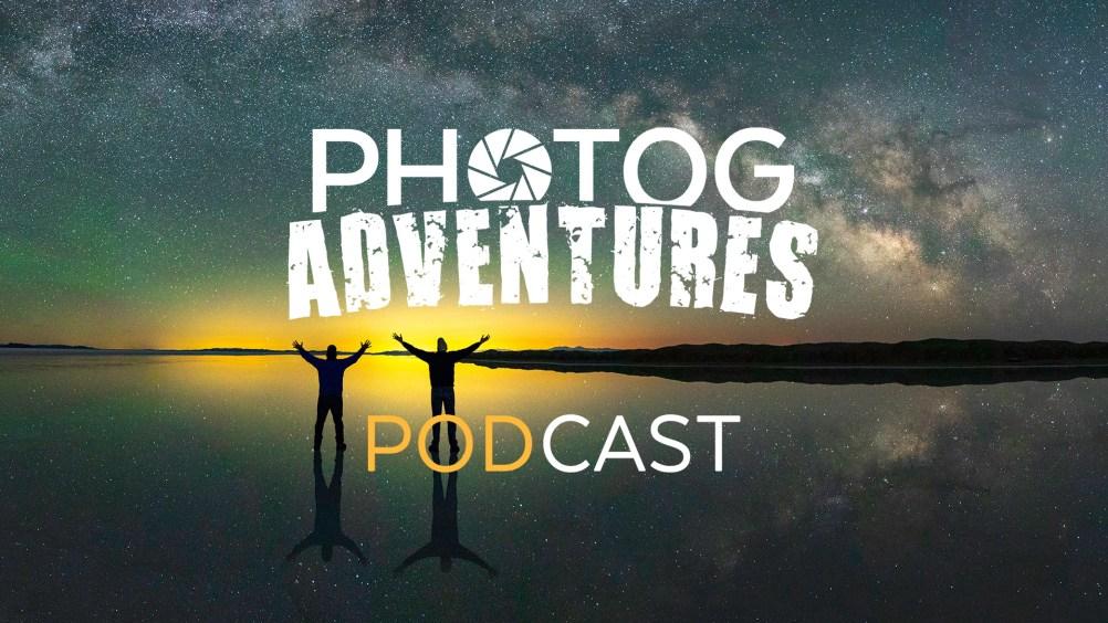Photog Adventures Podcast Episode 82 - #TheGreatMilkyWayChase Salt Flats Selfie Panorama.
