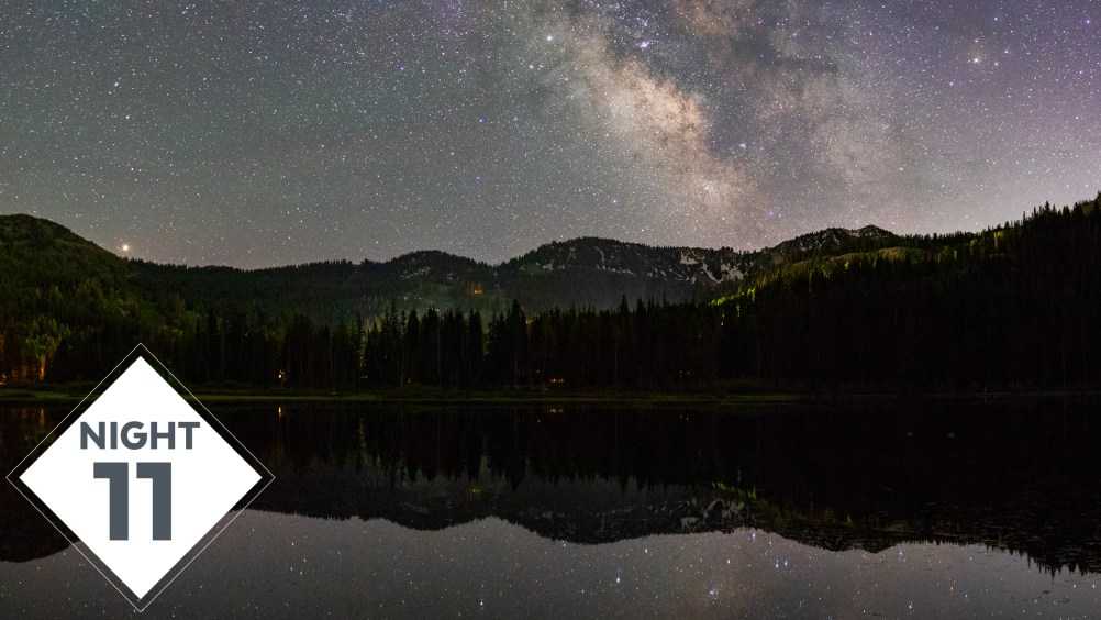 Reflected Milky Way Photography at Silver Lake for Night 11! | #TheGreatMilkyWayChase Vlog