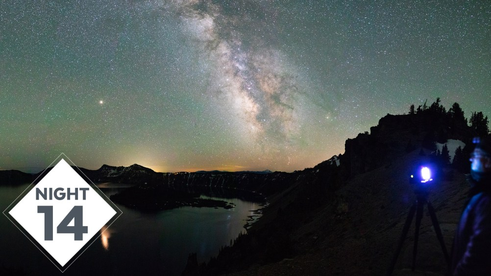 Night 14 #TheGreatMilkyWayChase VLOG: Brilliant & Stunning Crater Lake Milky Way Photography