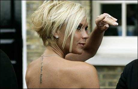 Celebs with tatoos Photos - Foreign Models - Fashion - The Times of India