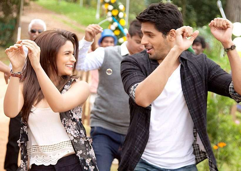 Alia Bhatt and Sidharth Malhotra dance