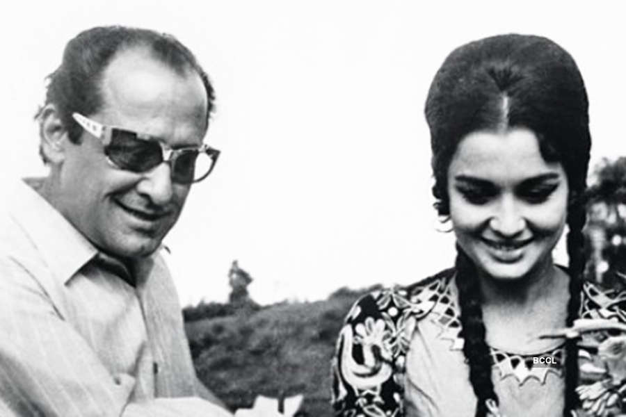 Asha Parekh, Nasir relationship