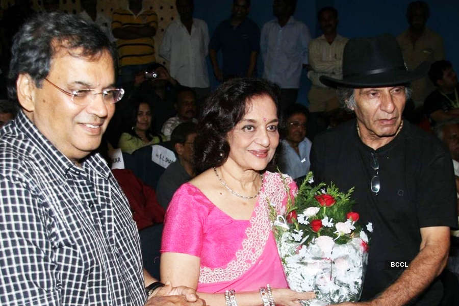 Asha Parekh's known for her emotive eyes