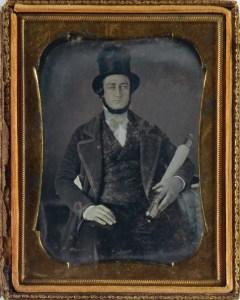 Daguerréotype dans son écrin