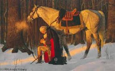 George Washington's Prayer at Valley Forge - MeetAmerica