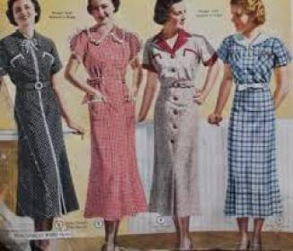1937 Fashion, Clothing Styles