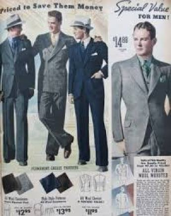 1930s Men's Suits- History in Pictures | Mens fashion classic ...