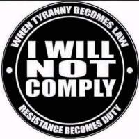 Be Brave, Be Strong, Do Not Comply