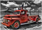 Retired Fire Truck by Marcia Nye