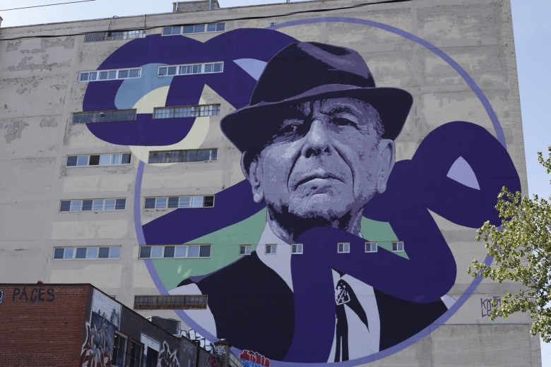 Leonard Cohen, Art, 2017, Image, Photogrpahy